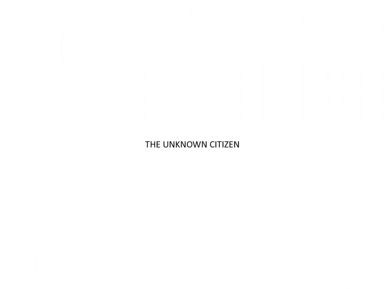 chandan gomes the unknown citizen chandan gomes