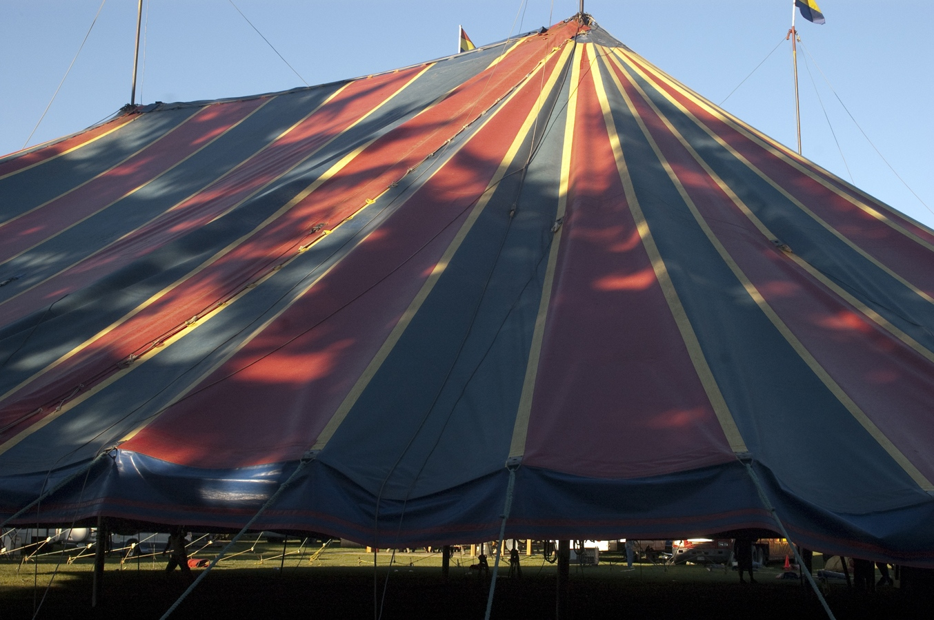Art and Documentary Photography - Loading tent motley sun.jpg