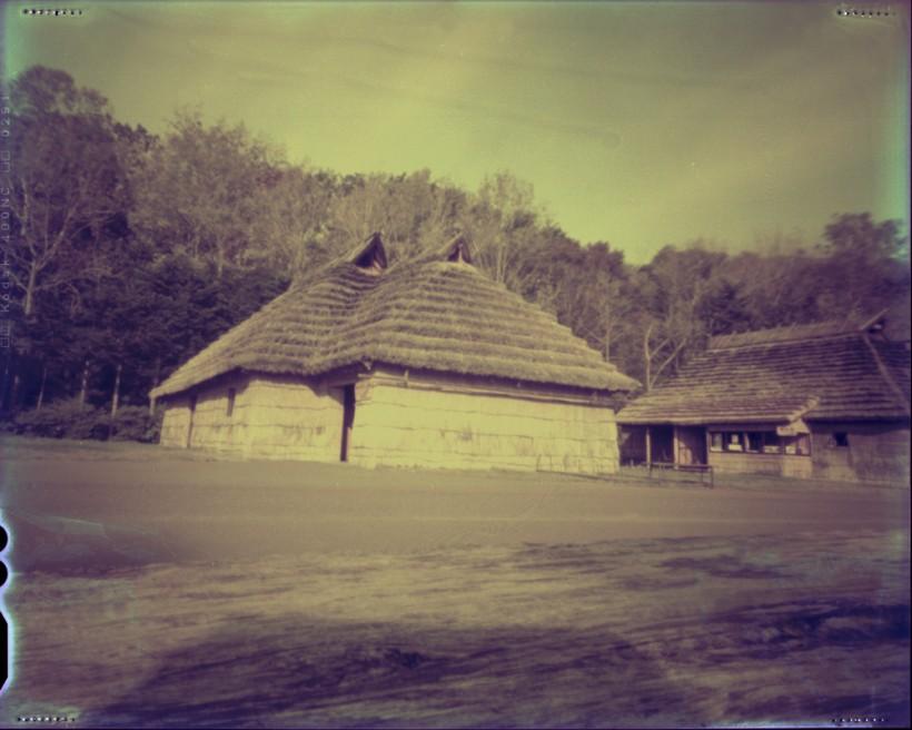 Art and Documentary Photography - Loading Ainu huts.jpg