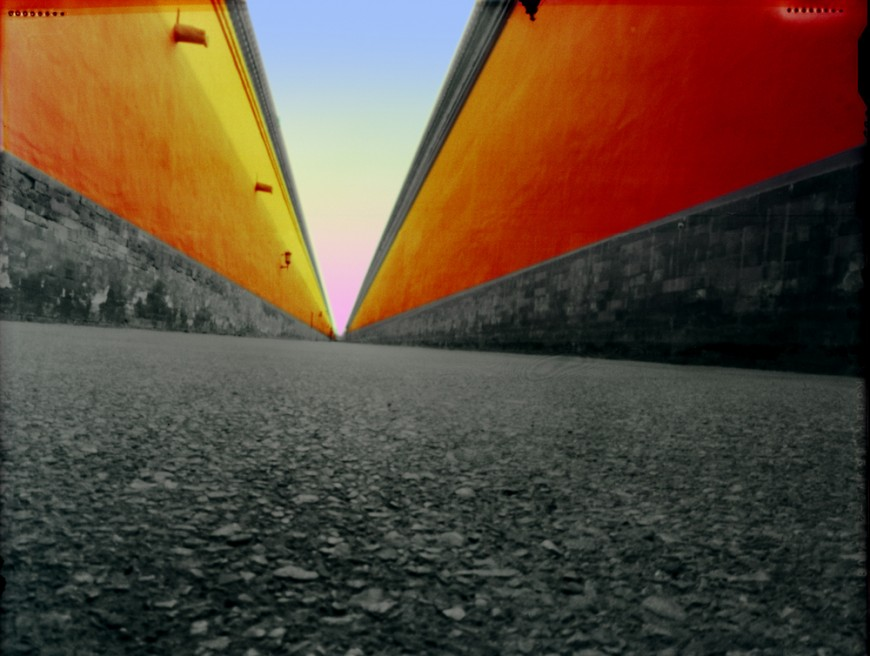 Art and Documentary Photography - Loading Beijing Forbidden City Passageway 2009.jpg