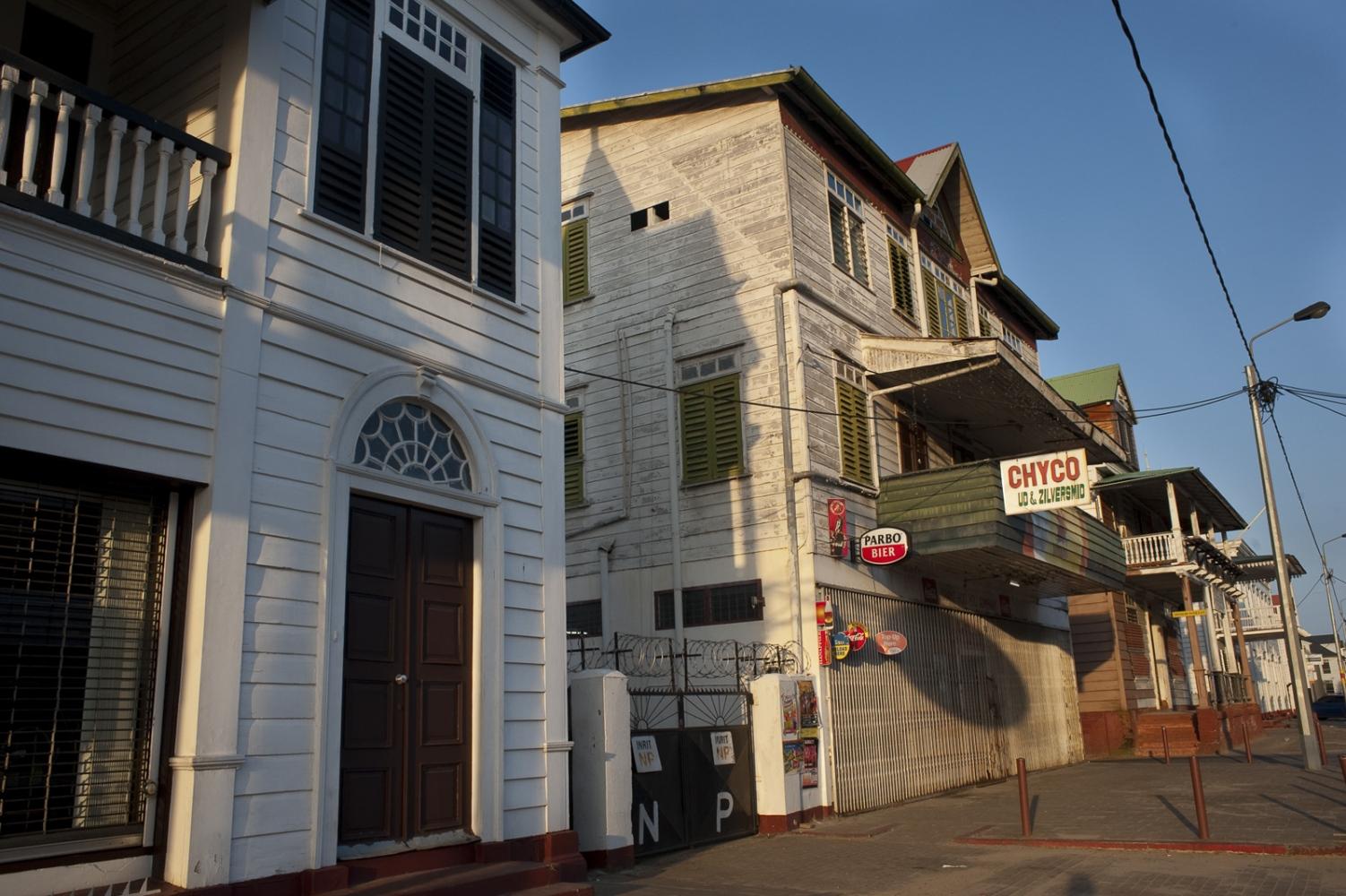 Street scene in Paramaribo