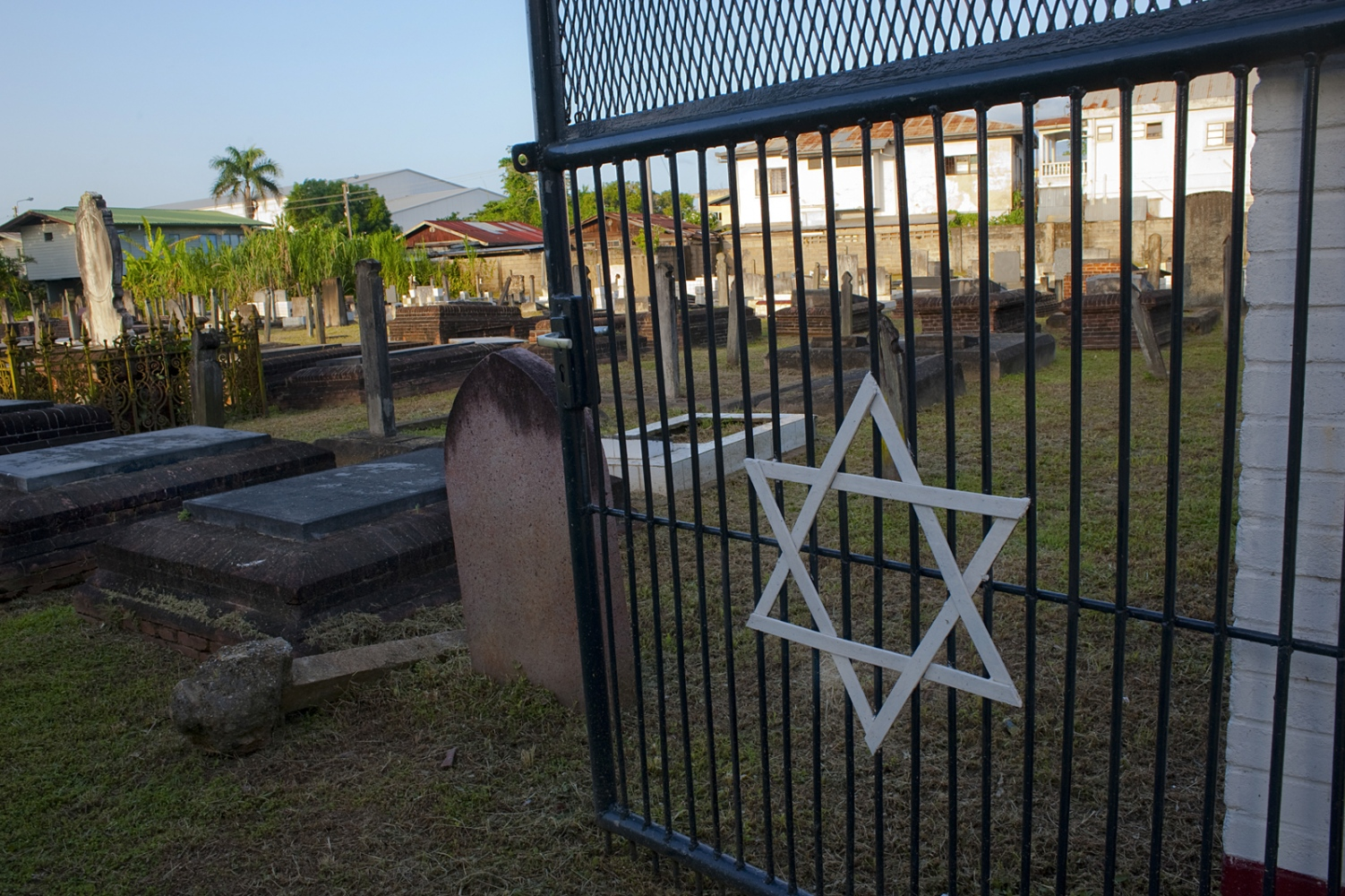 One of several Jewish cemeteries in Paramaribo