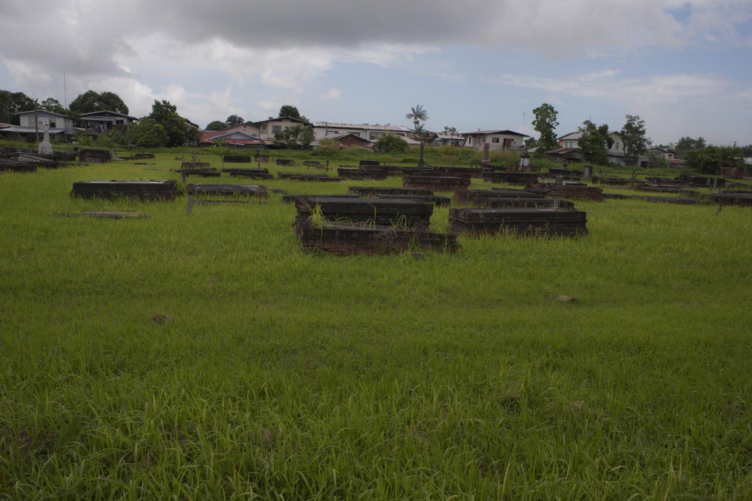 Jewish cemetery in Paramaribo