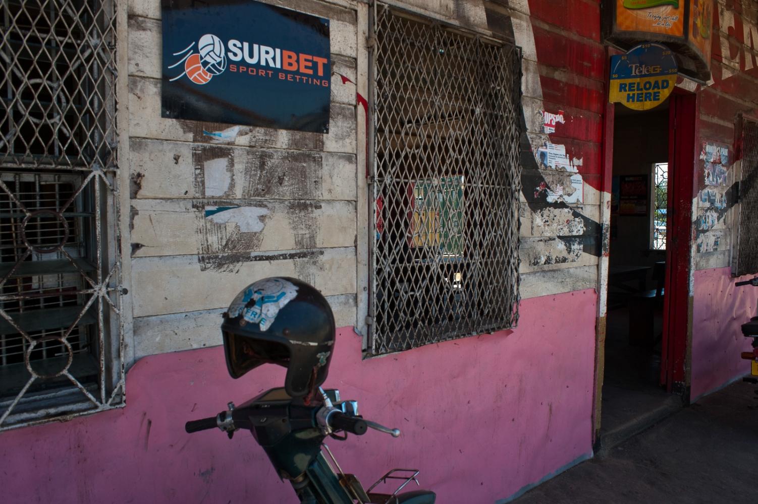 Storefront in Paramaribo