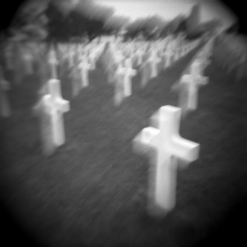 American Cemetery & Memorial in Colleville-sur-Mer near Omaha Beach, Normandy, France.