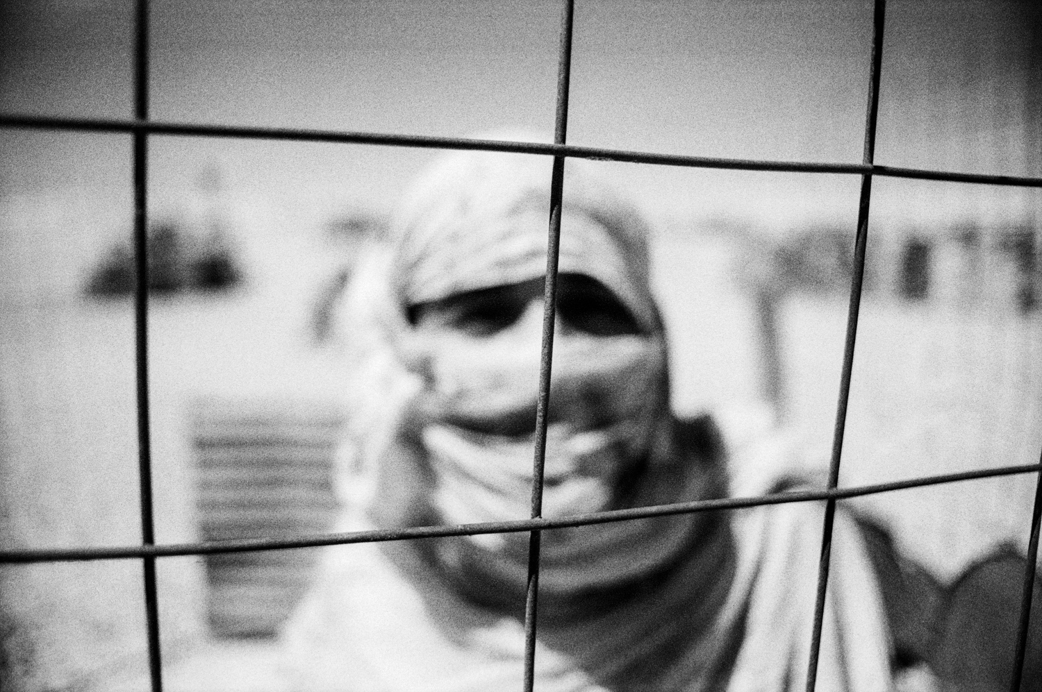 Sahrawi woman in the 27 th  February camp, Tindouf, Algeria.