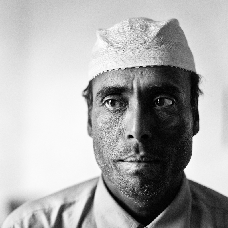 A worker from Bangladesh.