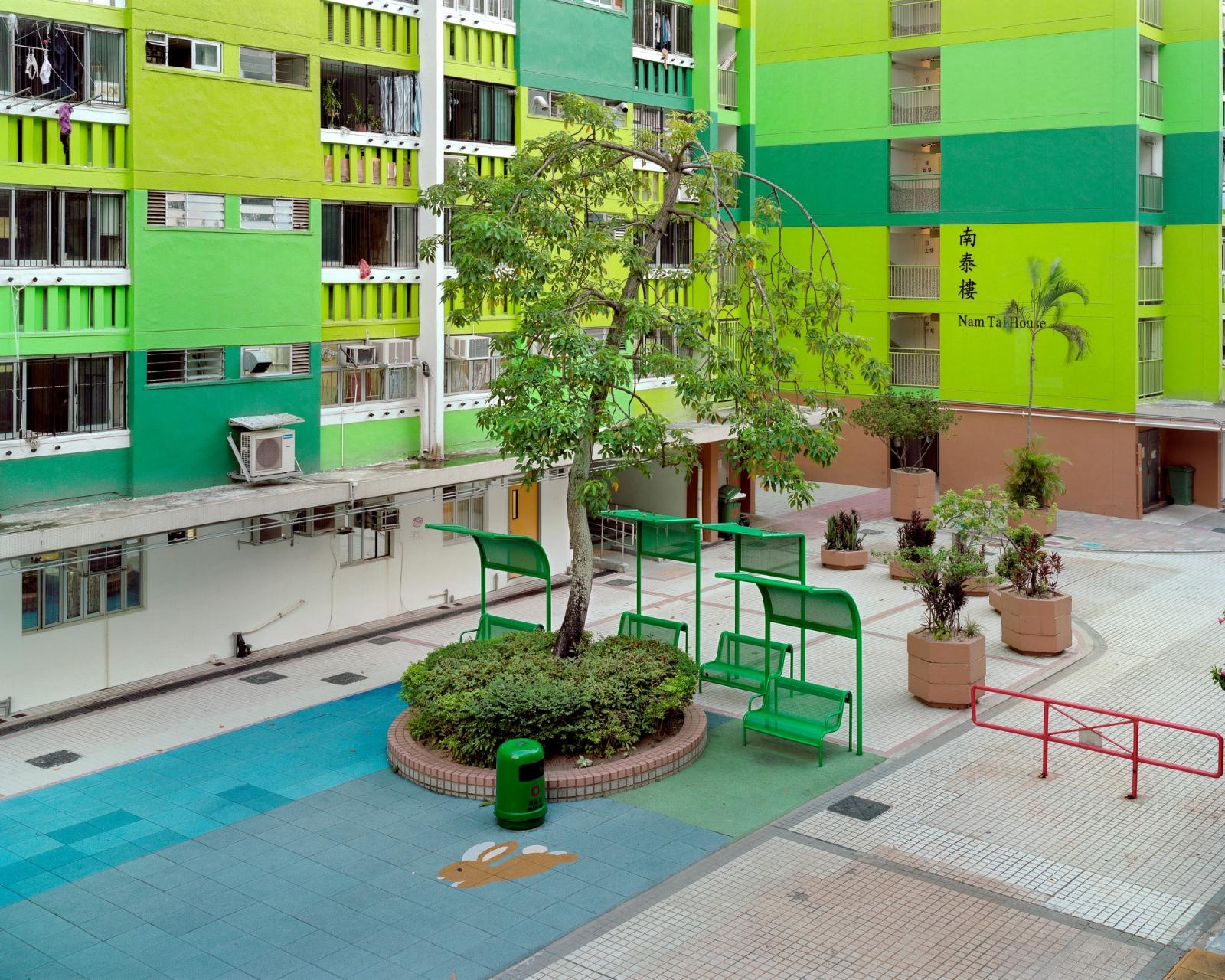 "Nam Shan Estate, 10/2010 Archival Pigment Inkjet Print 28.8"" x 36"" / 40"" x 50"""