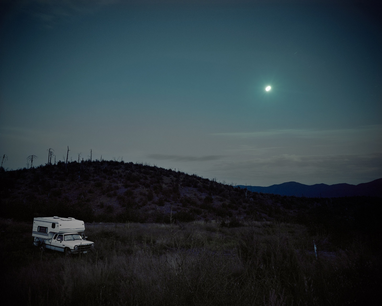 Camper in Moonlight, 2008