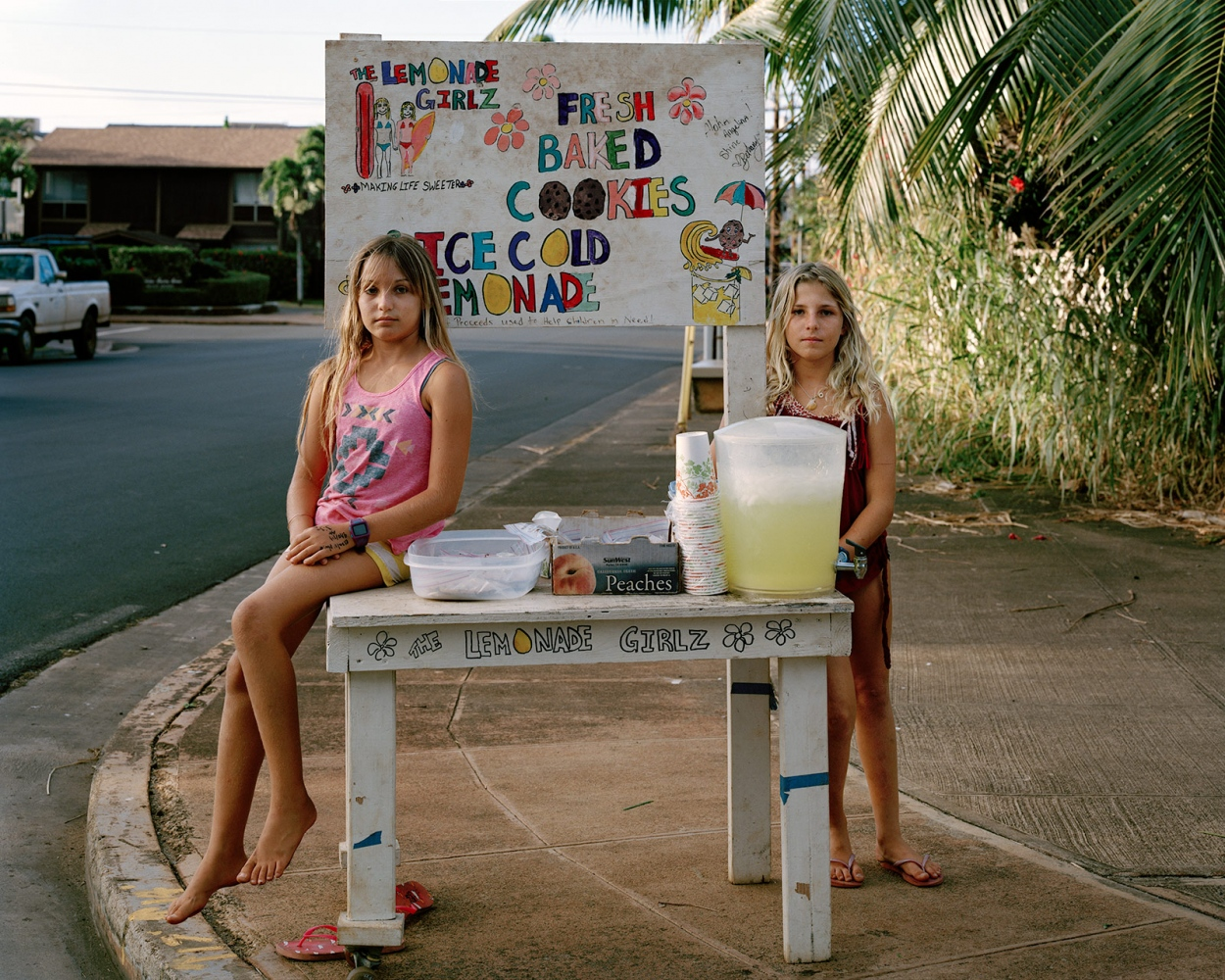 Lemonade Stand, Hawaii 2014