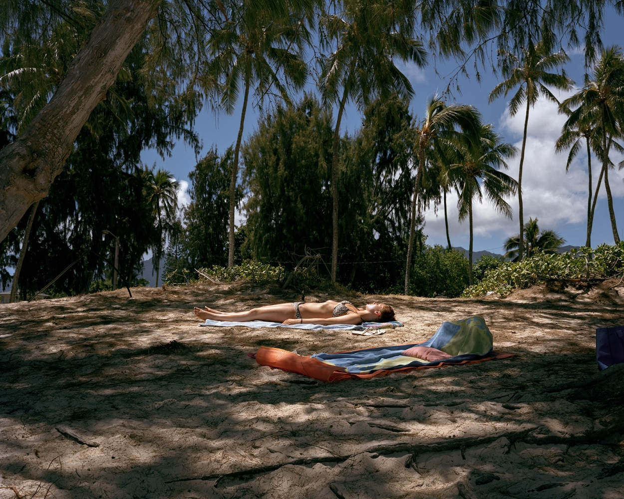 Women Sunbathing, Hawaii 2014