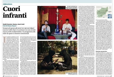 FROM AFGHANISTAN WITH LOVE, Internazionale Magazine (Italy) - 2015