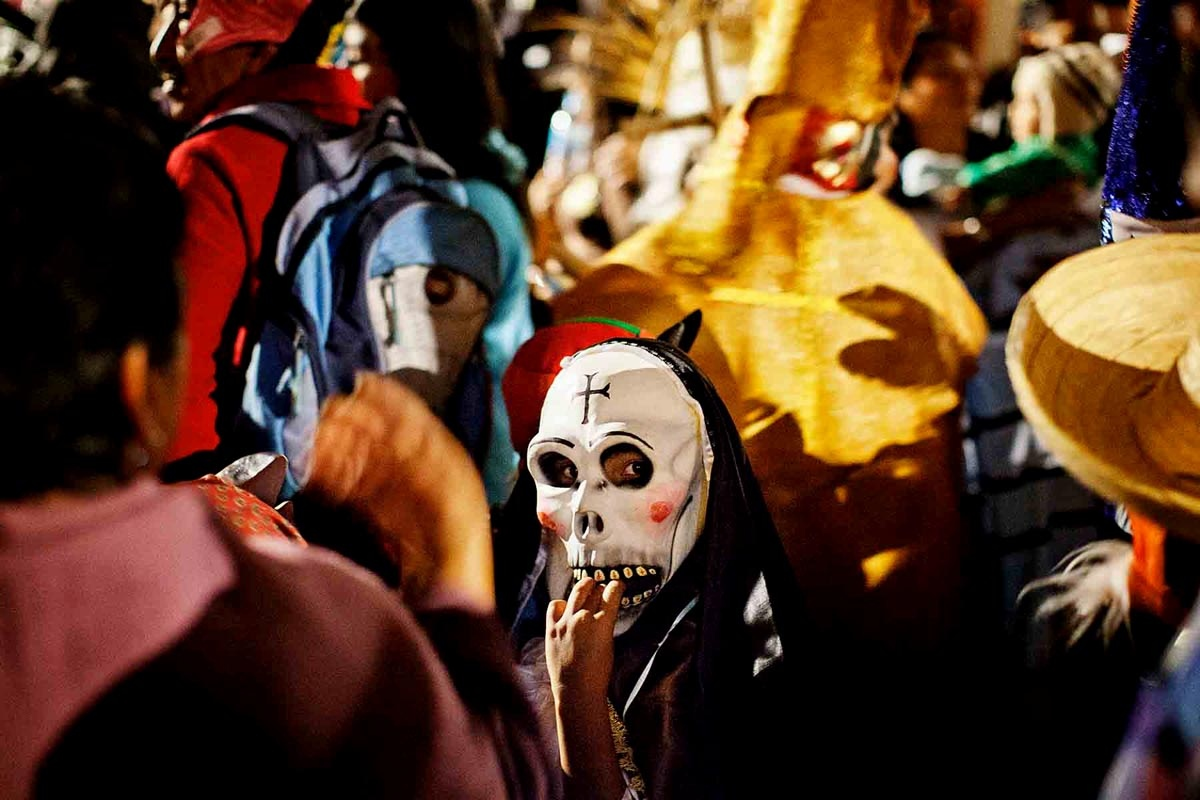 Muerteada en Oaxaca