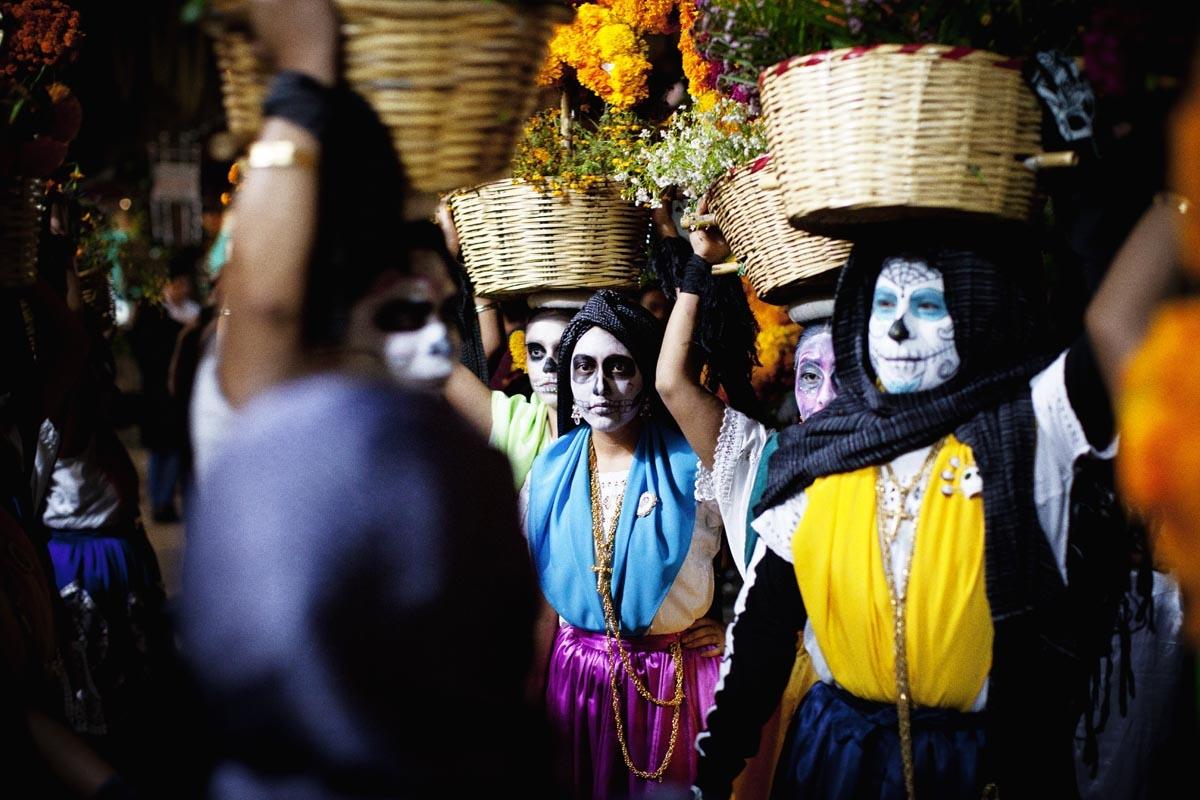 Dia de Muertos en Oaxaca, Mexico