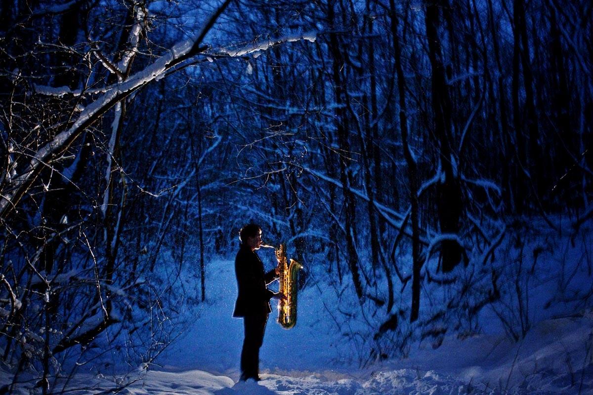Music Portraits Saxofonist