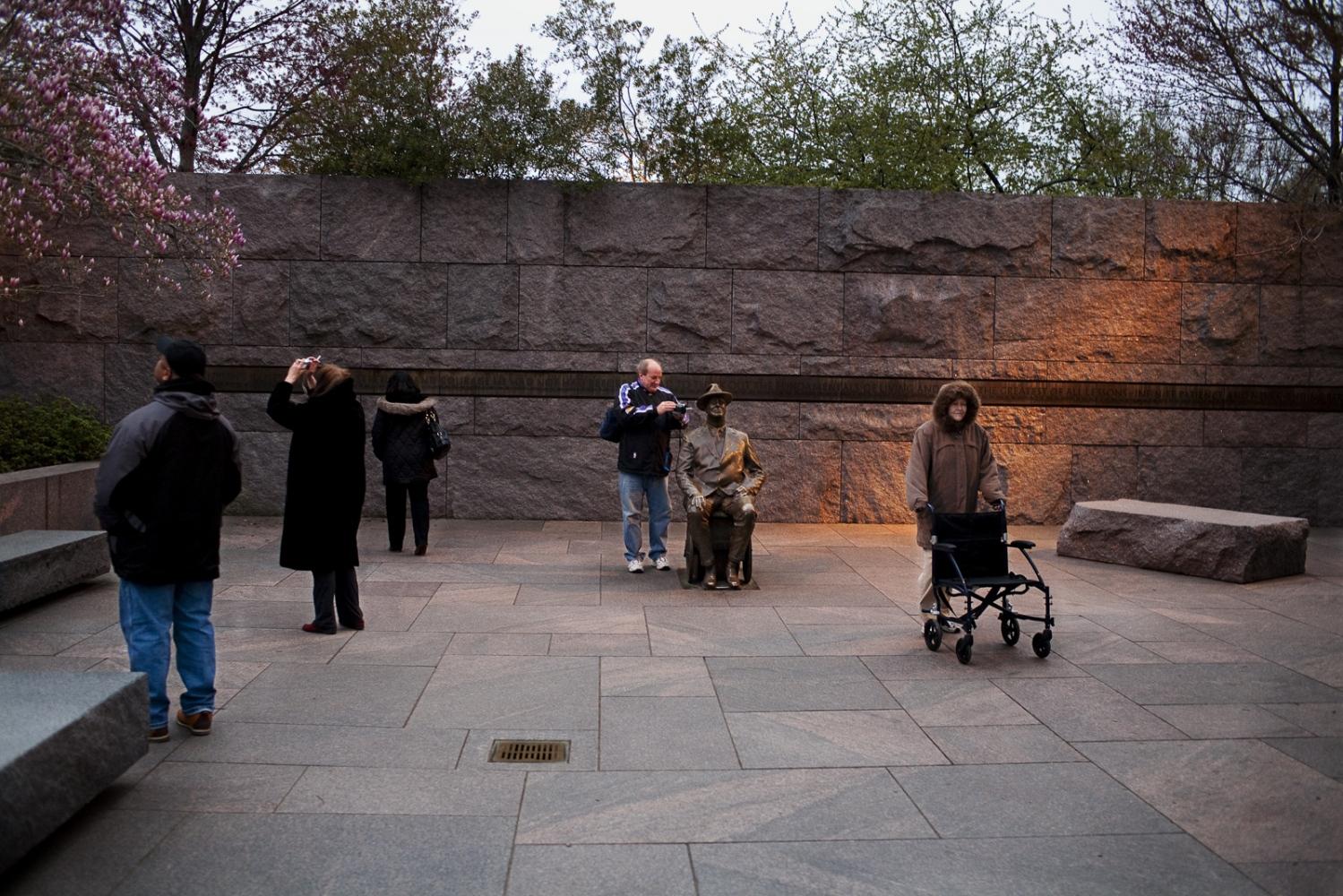 Entrance,FDR Memorial