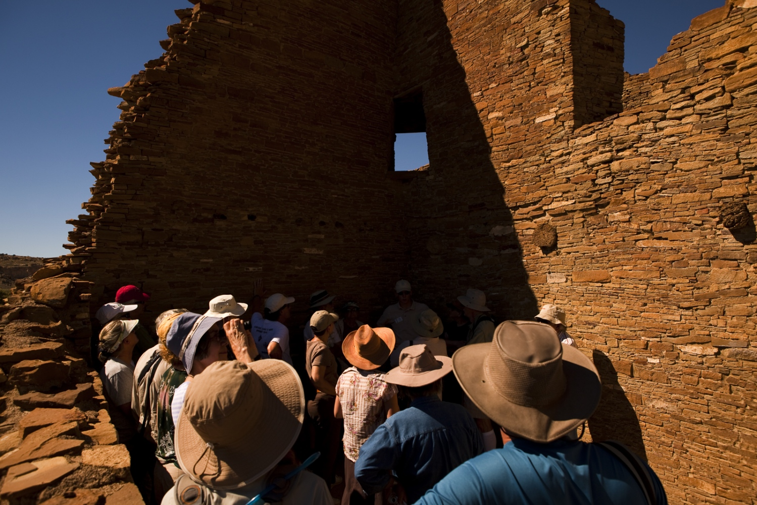 Chaco Culture National Historical Park, New Mexico.