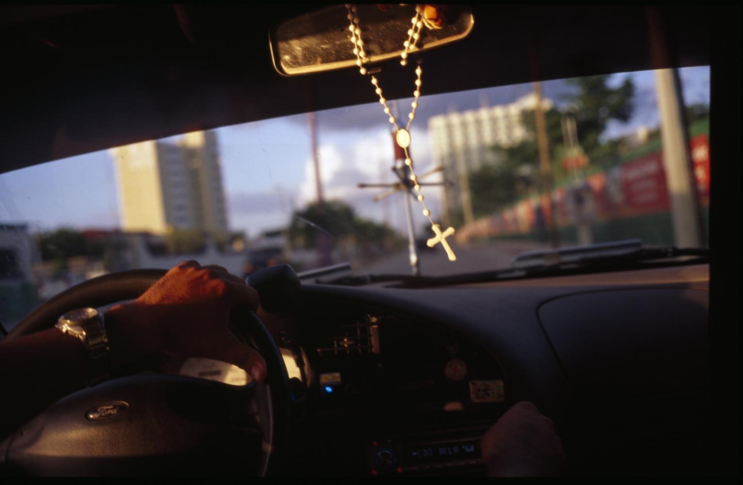 Taxi,Cancún, Mexico.