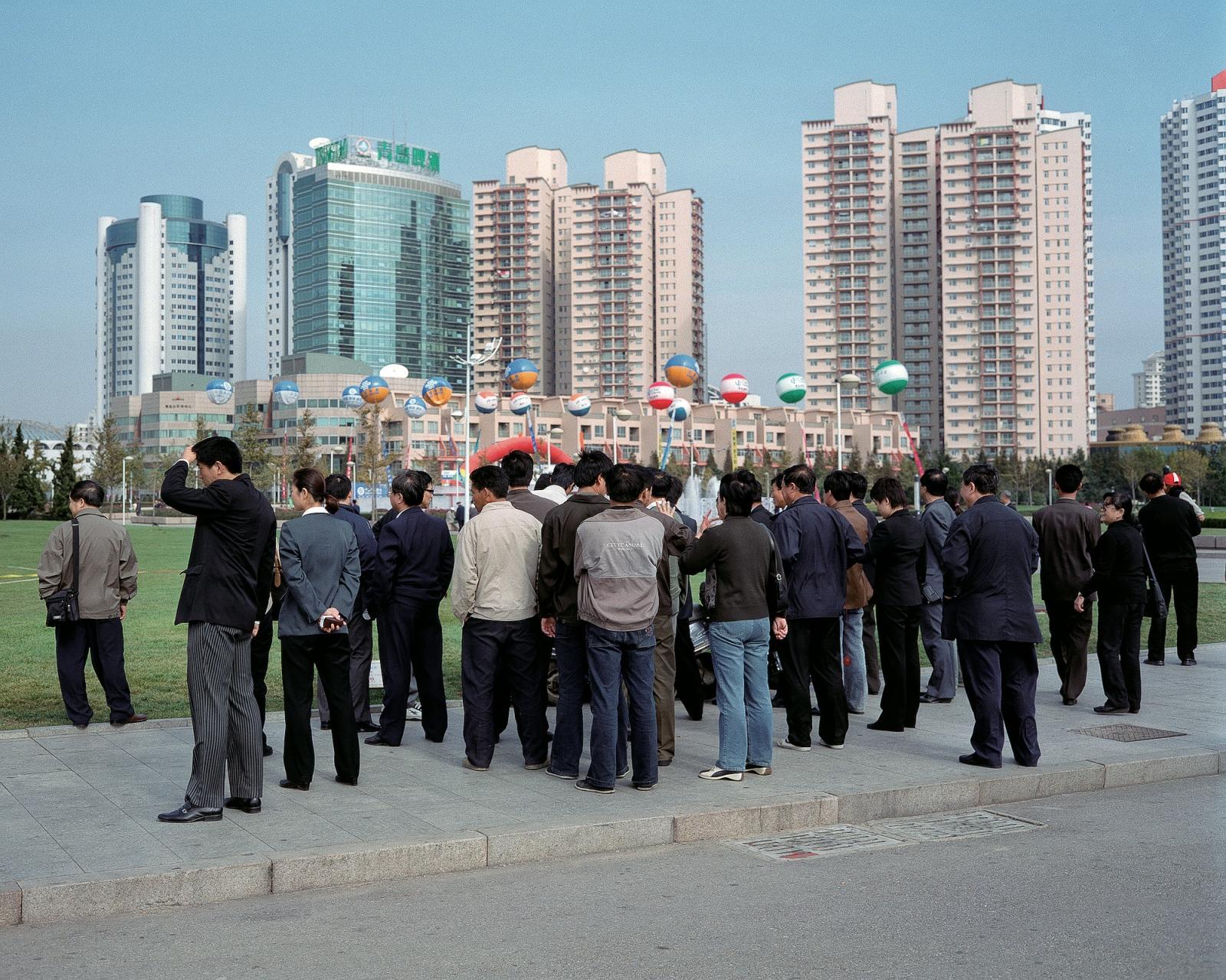 "Qingdao, 2003 2003 Archival Pigment Inkjet Print 30"" x 37.5"""