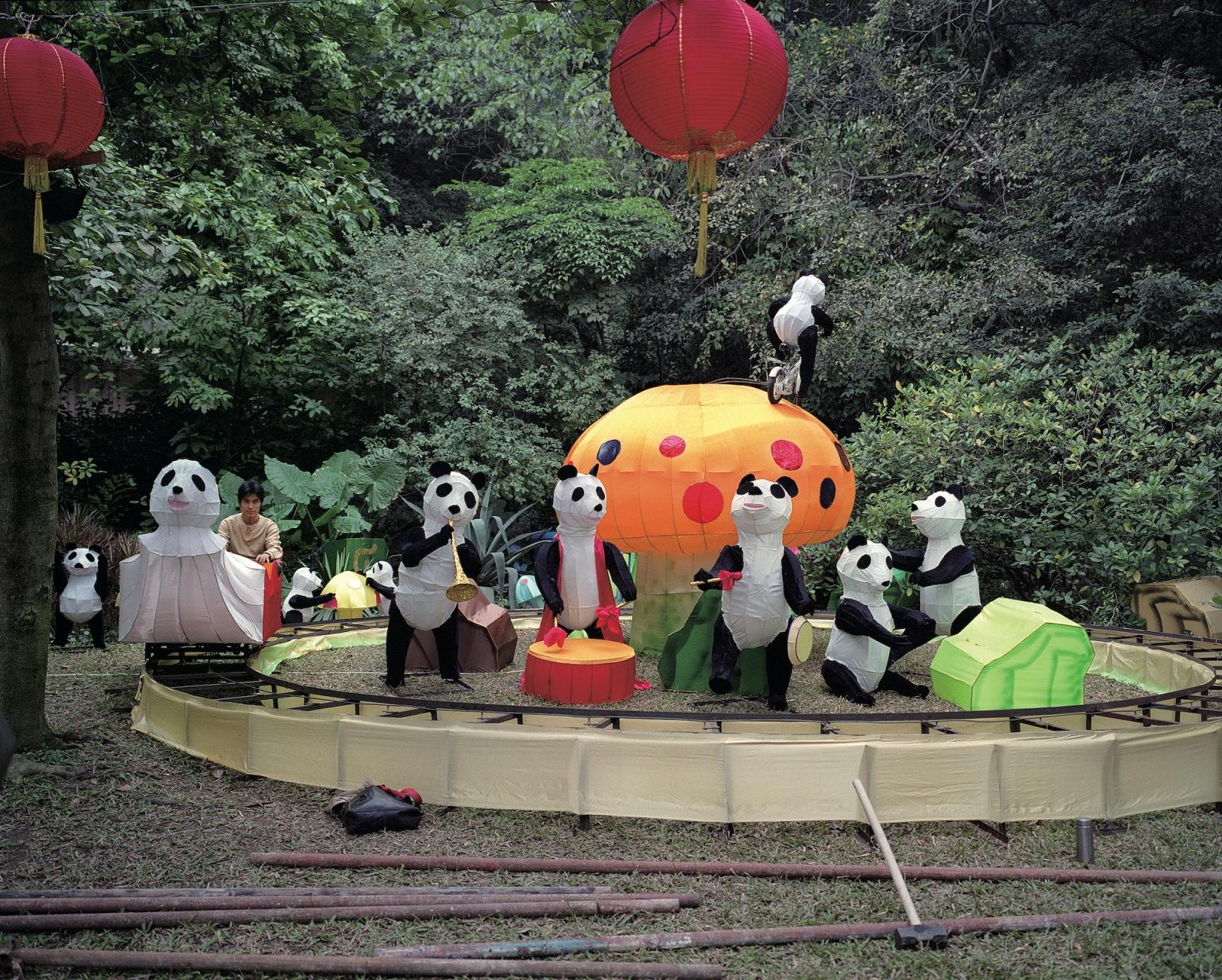 "Guangzhou, 2006  2006 Archival Pigment Inkjet Print 30"" x 37.5"""