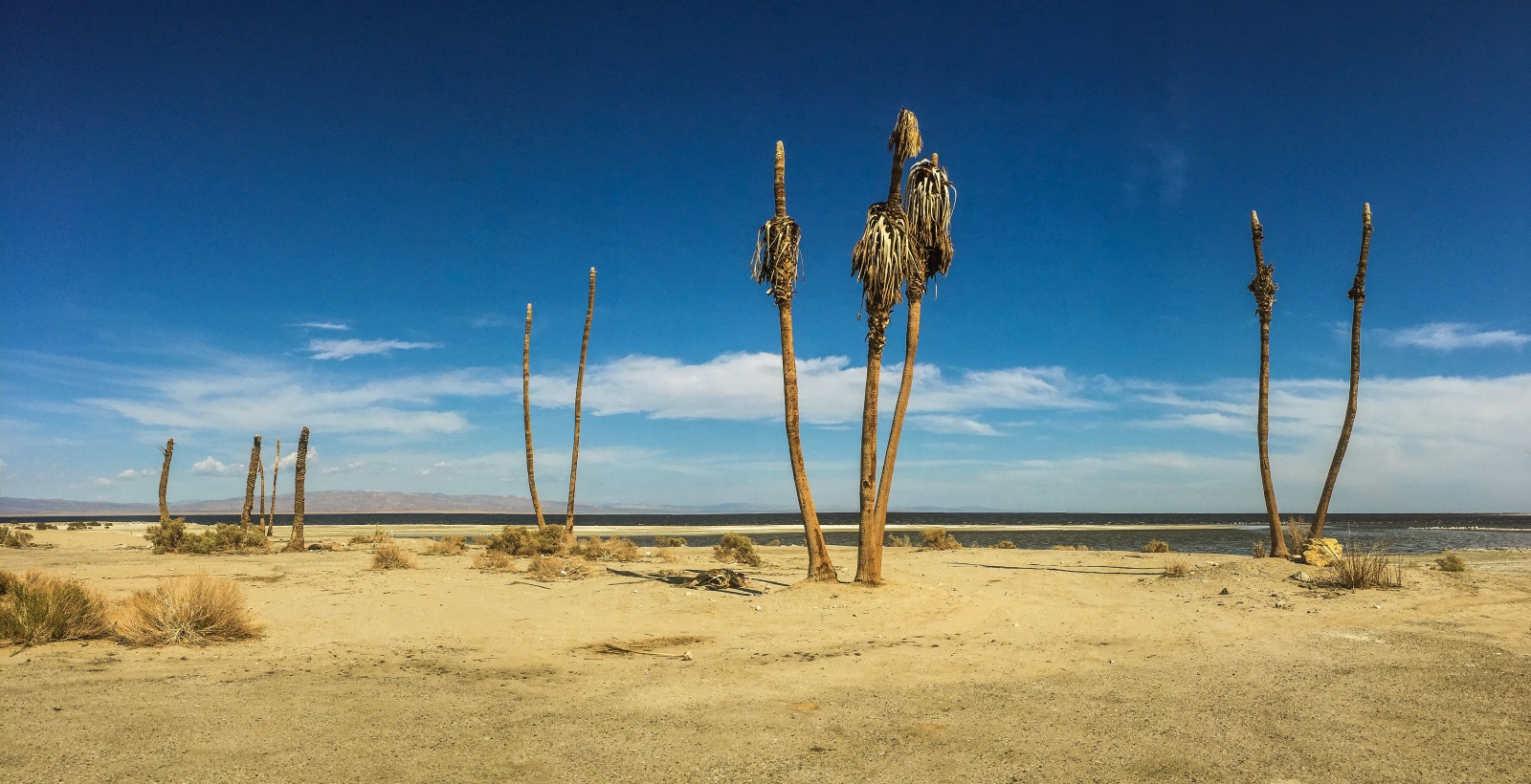 Thermal, CA - West Side of the Salton Sea, near Salton City