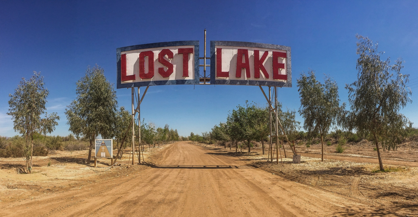 Riverside County, CA - Lost Lake is a resort off of Highway 95 on the Colorado River. The Colorado River is fed by the Sierra snow pack which is down by 50% this year and provides water to the seven states, including California, that surround it.