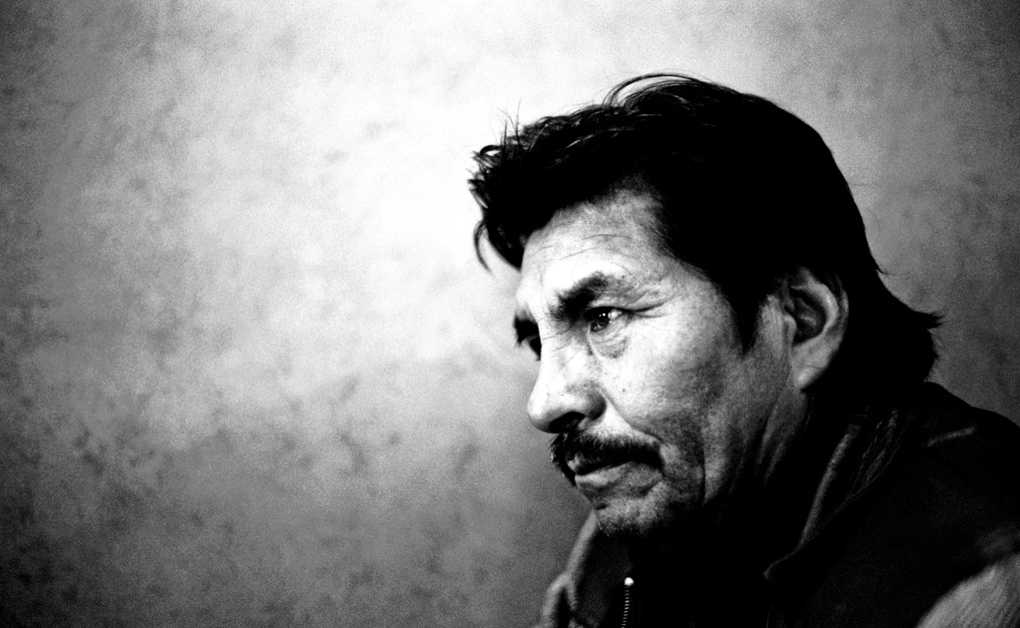 "Felipe Quispe Huanca ""El Mallku"", ex-leader of the Tupac Katari Guerrilla Army and recognised indigenous politician."