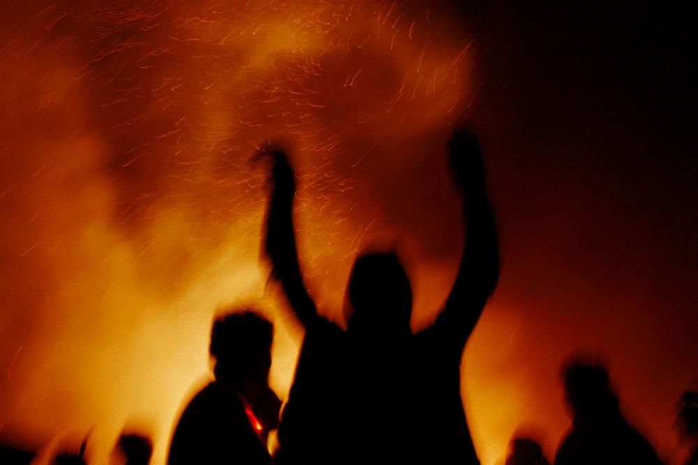 Photography image - Burning Man.