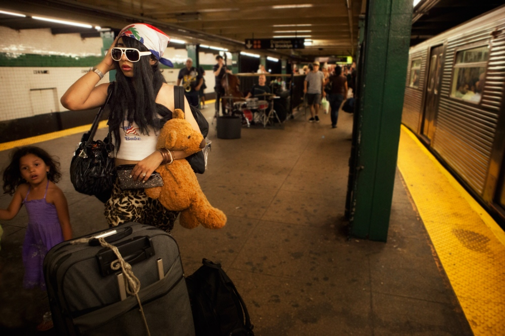 June is homeless and drifts in and out of shelters. She is on her way to the Covernant House a shelter for teenagers in NYC which is not very welcoming to transgender youth.