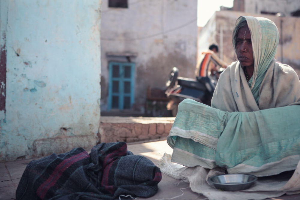 "The daily earnings of six rupees fail to support a living, leaving the widows no recourse but to beg on the streets. ""The Bhajan Ashrams are getting twenty times the amount they distribute,"" said a resident of Vrindavan, who did not want to be named."