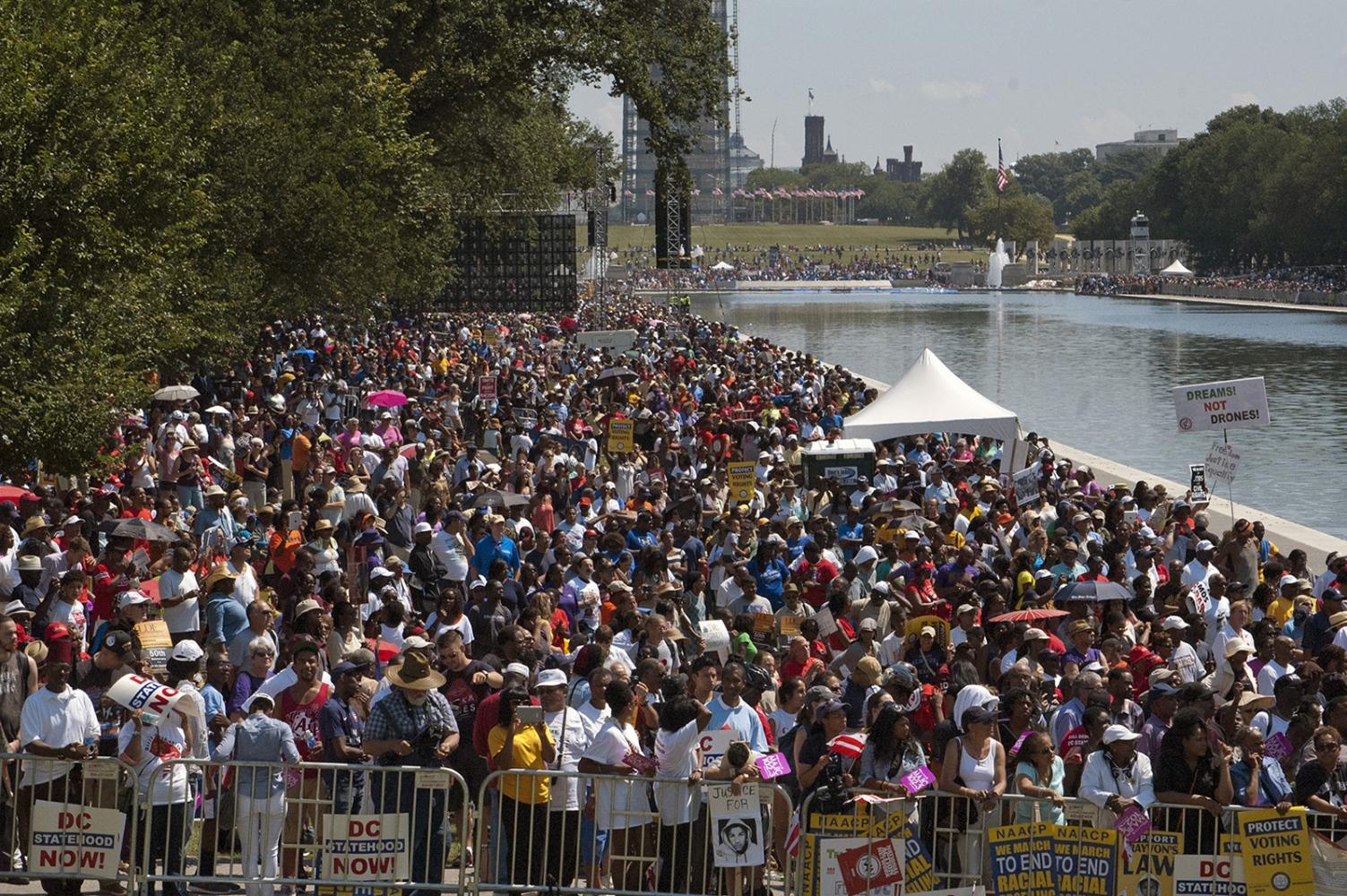 THE FIFTIETH ANNVERSARY OF THE MARTIN LUTHER KING JR. DREAM SPEECH, WASHINGTON D.C. 2013