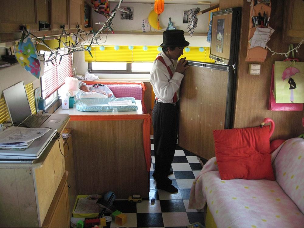 Art and Documentary Photography - Loading Fridman clown fridge.jpg