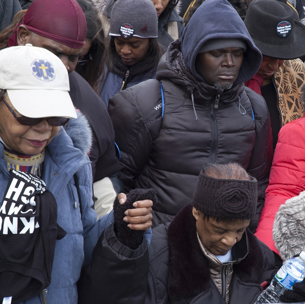 PRAYERS FOR ERIC GARNER,TOMIR RICE AND MICHAEL BROWN  WASHINGTON D.C. , 2014