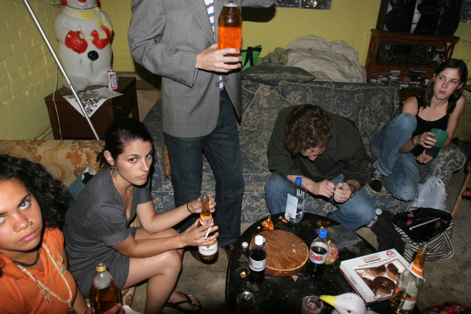 """I Wasn't Allowed to Have Friends"" /Sofia, Hannah, Danny, Alex & Jenn,2005"