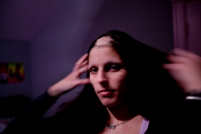 One of the First Portraits I Made of Hannah  / Hannah, 2009