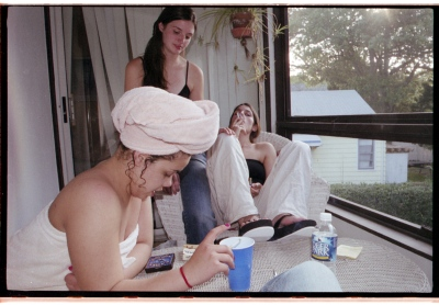 Winding Down  / Sofia, Anna and Hannah, 2004