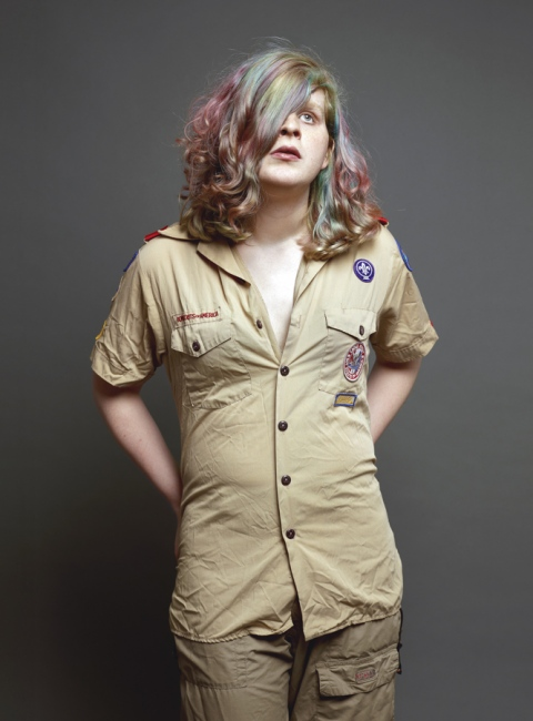 Art and Documentary Photography - Loading gender_sophia_boyscout_tight_PRINT_xtraback.JPG