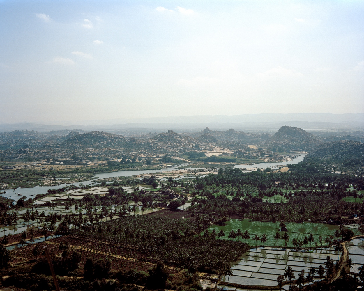 Hampi from the Hanuman Temple.