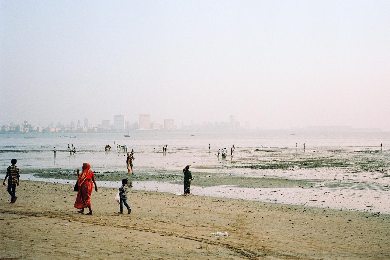 Girgaum Chowpatty Beach, Mumbai.