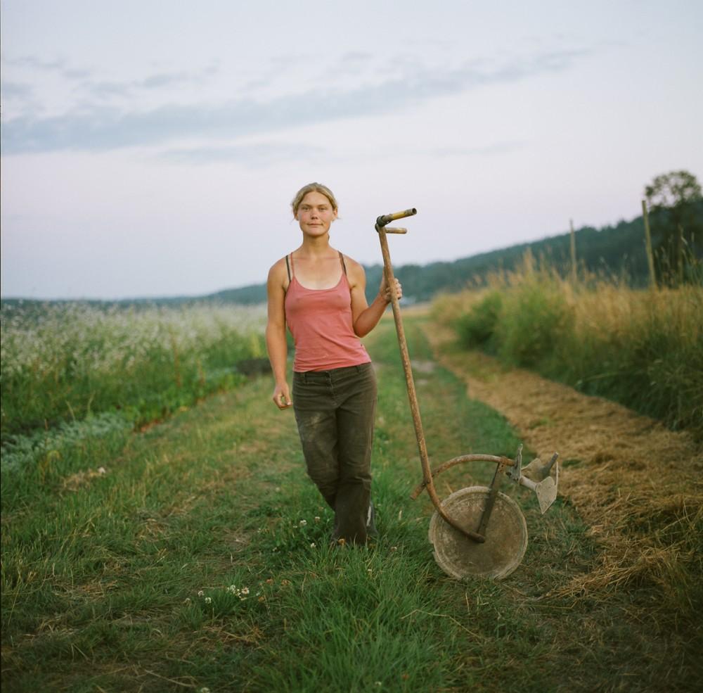 Art and Documentary Photography - Loading 7of10-davidson-juliewithwheelhoe.jpg