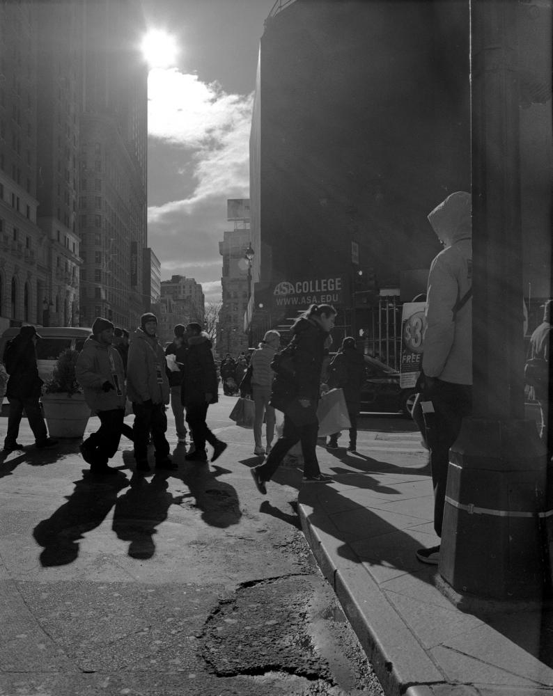 Aaron Siskind Foundation - SlideRoom No.1, 10 in 60/34th Street & Broadway