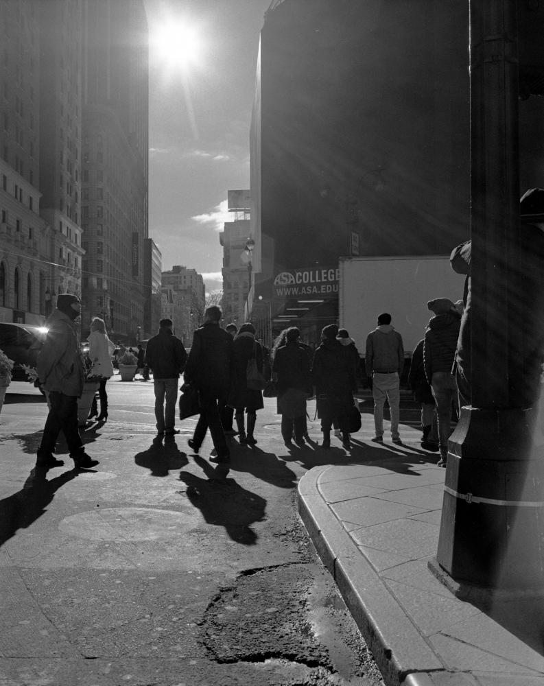 Aaron Siskind Foundation - SlideRoom No.2, 10 in 60/34th Street & Broadway