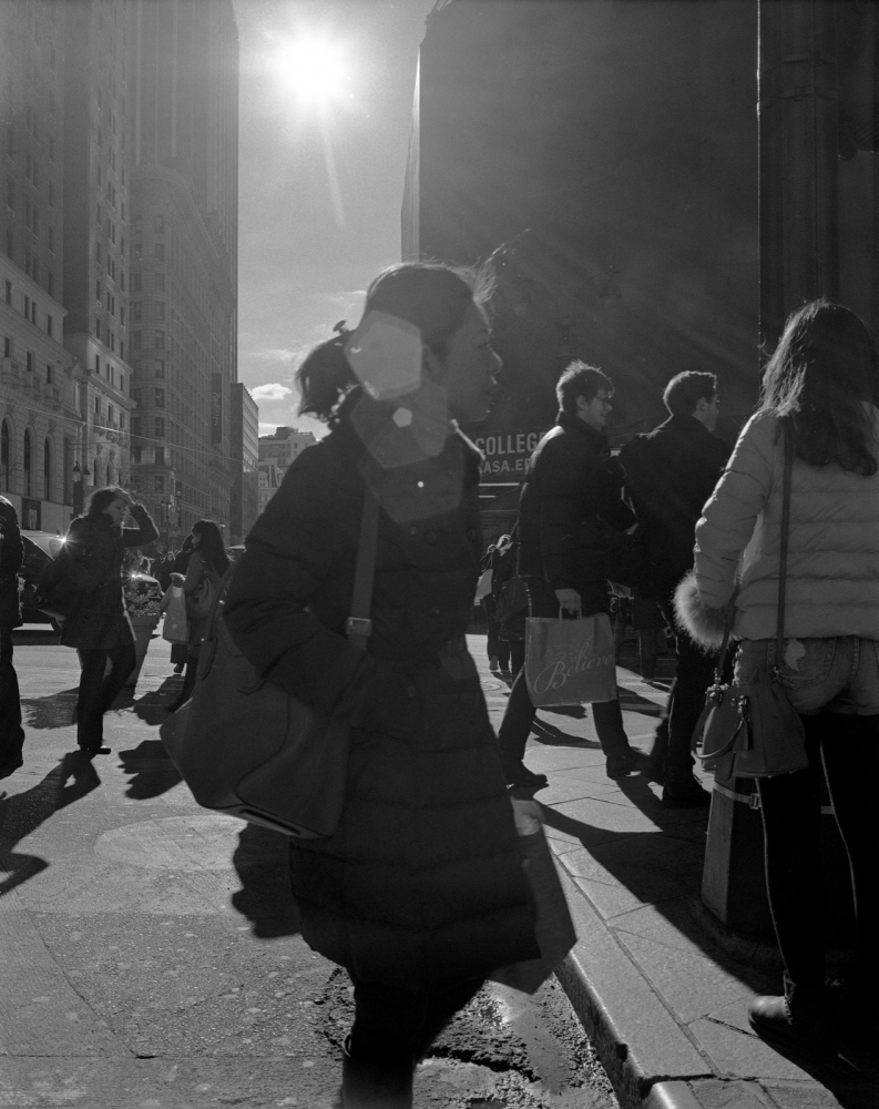 Aaron Siskind Foundation - SlideRoom No.3, 10 in 60/34th Street & Broadway