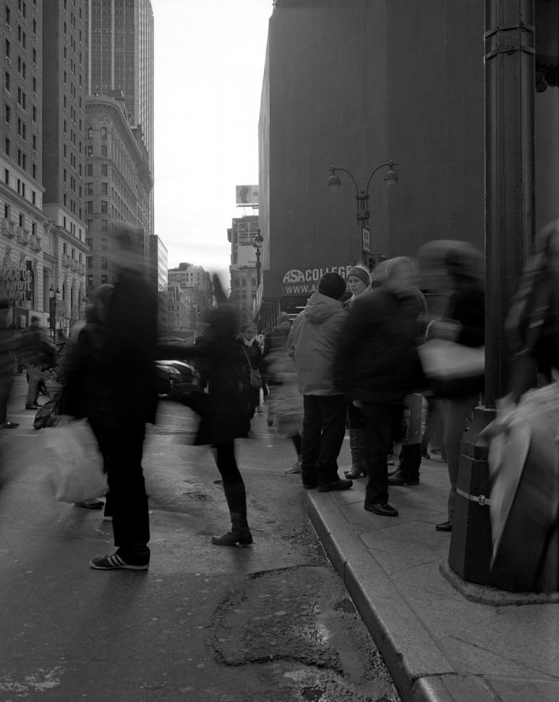 Aaron Siskind Foundation - SlideRoom No.6, 10 in 60/34th Street & Broadway