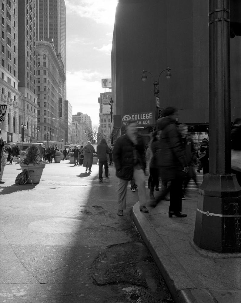 Aaron Siskind Foundation - SlideRoom No.7, 10 in 60/34th Street & Broadway