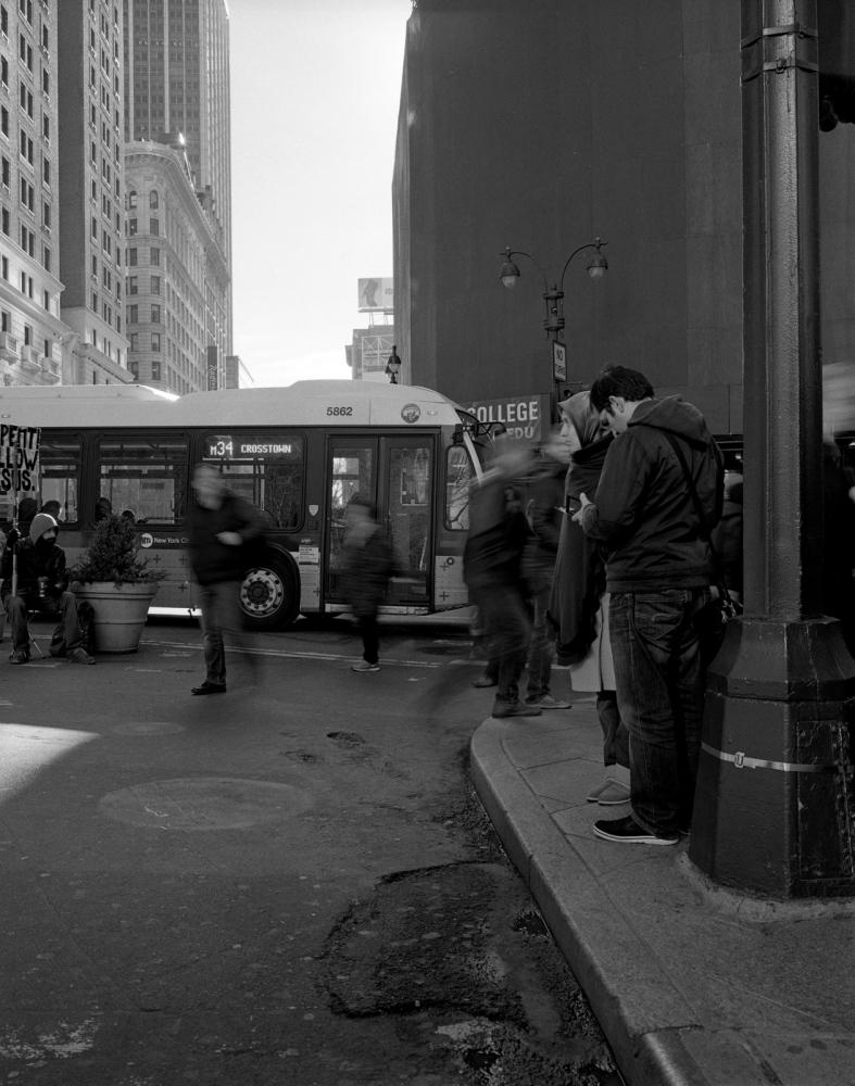 Aaron Siskind Foundation - SlideRoom No.8, 10 in 60/34th Street & Broadway