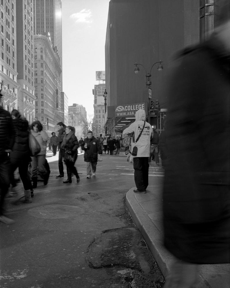 Aaron Siskind Foundation - SlideRoom No.9, 10 in 60/34th Street & Broadway