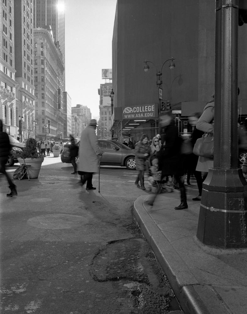 Aaron Siskind Foundation - SlideRoom No.10, 10 in 60/34th Street & Broadway