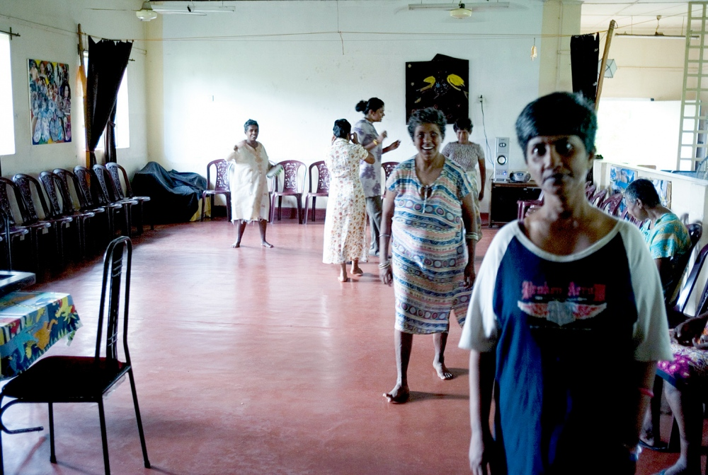In 2005, a charity called Nest was given a dilapidated ward at the hospital to turn in to an occupational therapy centre. The women are encouraged to engage in activities such as dancing, cooking, painting and sewing.