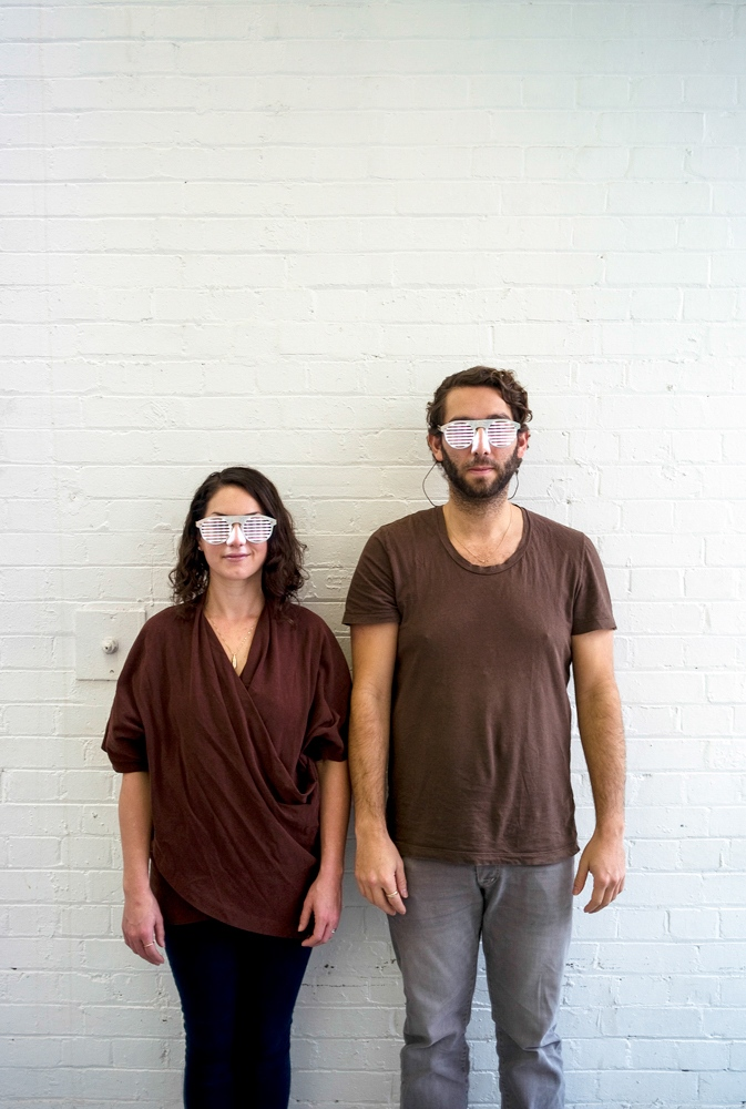 Technology Will Save Us co-founders, Bethany Koby and Daniel Hirschmann for Frankie Magazine.